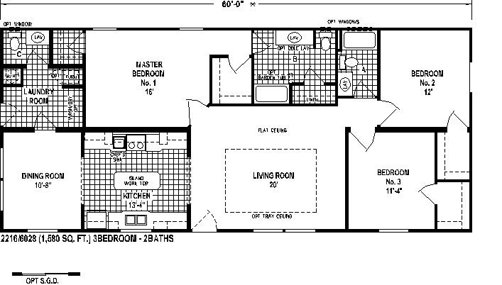 Retreat floorplan