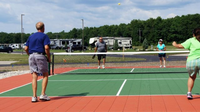 pickleball - The Bluffs of Manistee