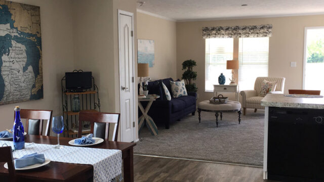 Manufactured home interior