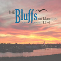 The Bluffs on Manistee Lake at Sunset